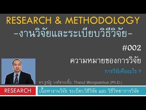 R002_ความหมายของการวิจัย