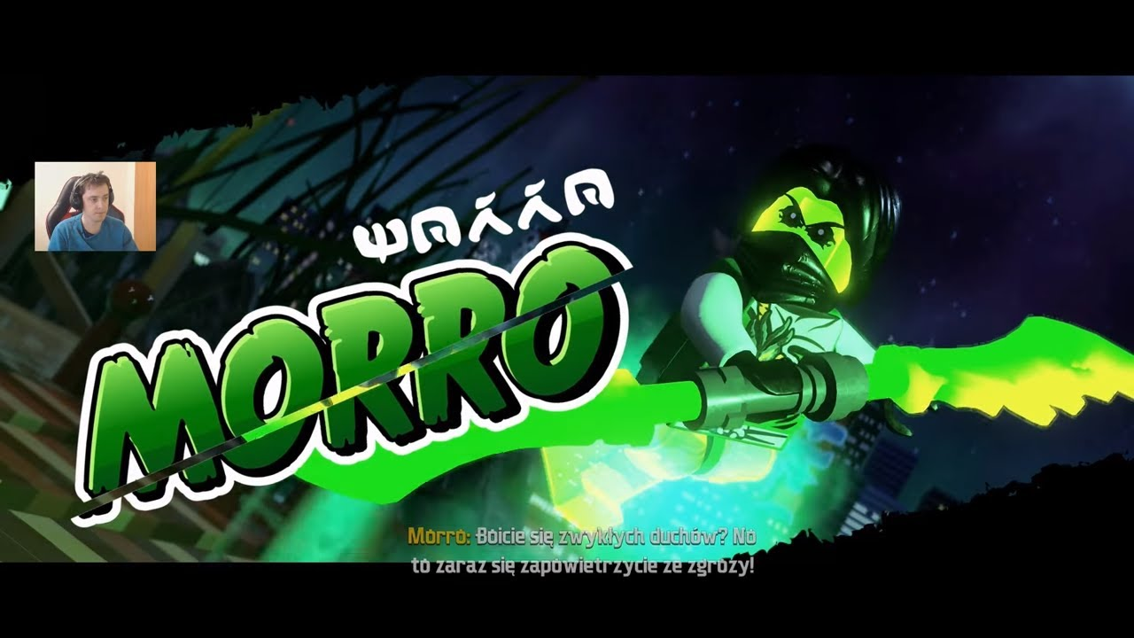 MORRO i CRYPTOR – WALKI W DOJO – LEGO NINJAGO FILM GRA WIDEO – NINJAGO MOVIE