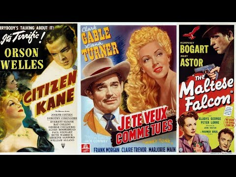 100 Years of Movie Posters - Top Films of 1941