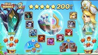 Idle Heroes (DH) NEW Hero + 400 Summon Heroic