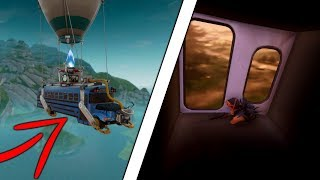 GOING INSIDE THE BATTLE BUS GLITCH | God Mode Glitch | Fortnite Battle Royale
