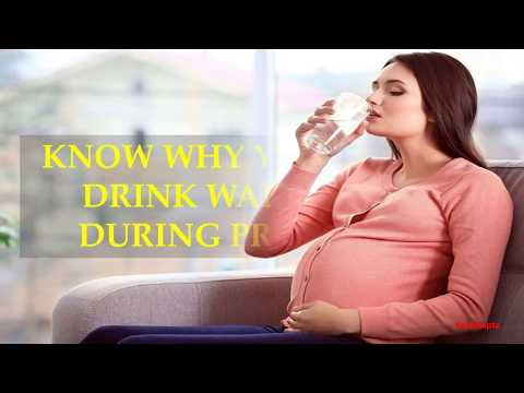 KNOW WHY YOU SHOULD DRINK WARM WATER DURING PREGNANCY