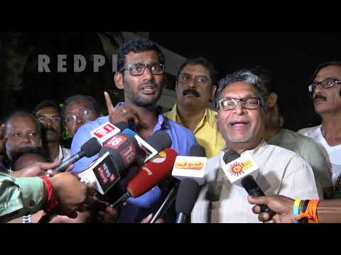 vishal vs ponnvannan | Vishal is genius,  tamil news live, tamil news today  tamil news redpix