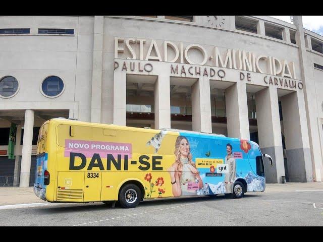 Ônibus Busdoor Palácio Fretamento Turismo - Mídia OOH
