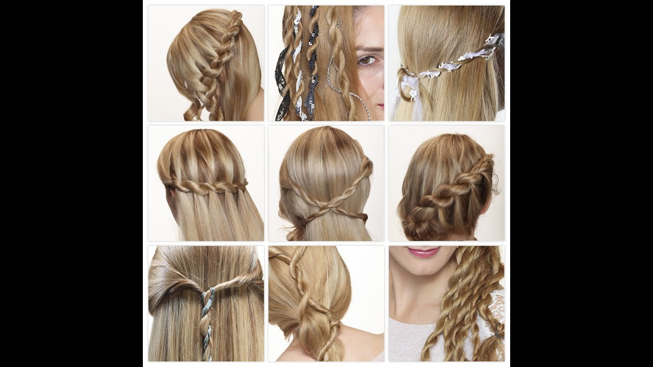hair plaited tutorial