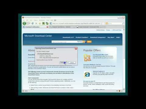 How To View pps and ppt Files