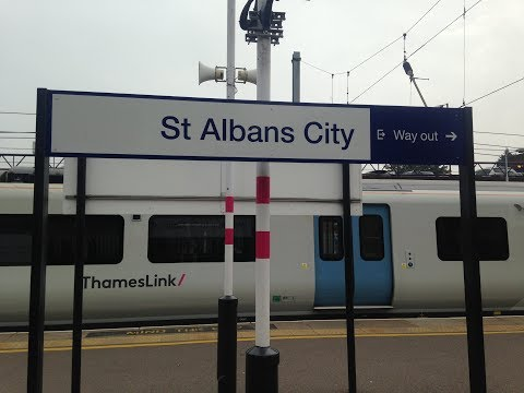 Full Journey on Thameslink (Class 700) from St Albans to Luton (via Mitcham, Sutton and Wimbledon)