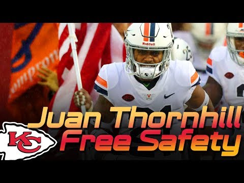 Chiefs Juan Thornhill - Virginia Safety Scouting Highlights | Kansas City Chiefs 2019 NFL | UVA