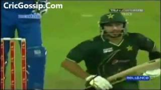 Shahid khan  Afridi 75 Runs 2011 Against Srilanka.