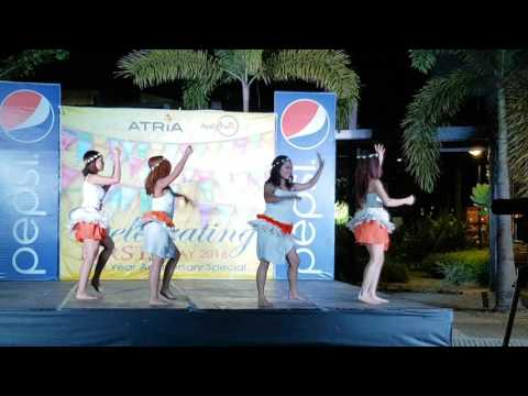 Tahitian Dance . Music Title: Jungle
