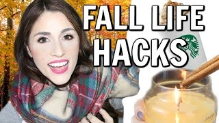 DIY Life Hacks For Fall You Need To Try