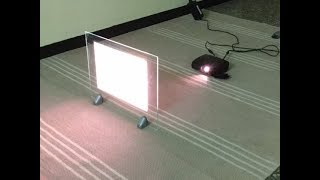 SPLASH Rear Projection Glass Displays & Holographic Film in India