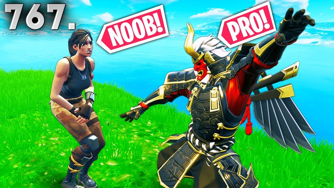 TROLLING NOOB PLAYER! - Fortnite Funny WTF Fails and Daily Best Moments Ep. 767