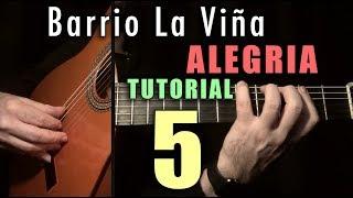 Pulgar Exercise - 30 - Barrio la Viña (Alegrias) FINALE by Paco de Lucia