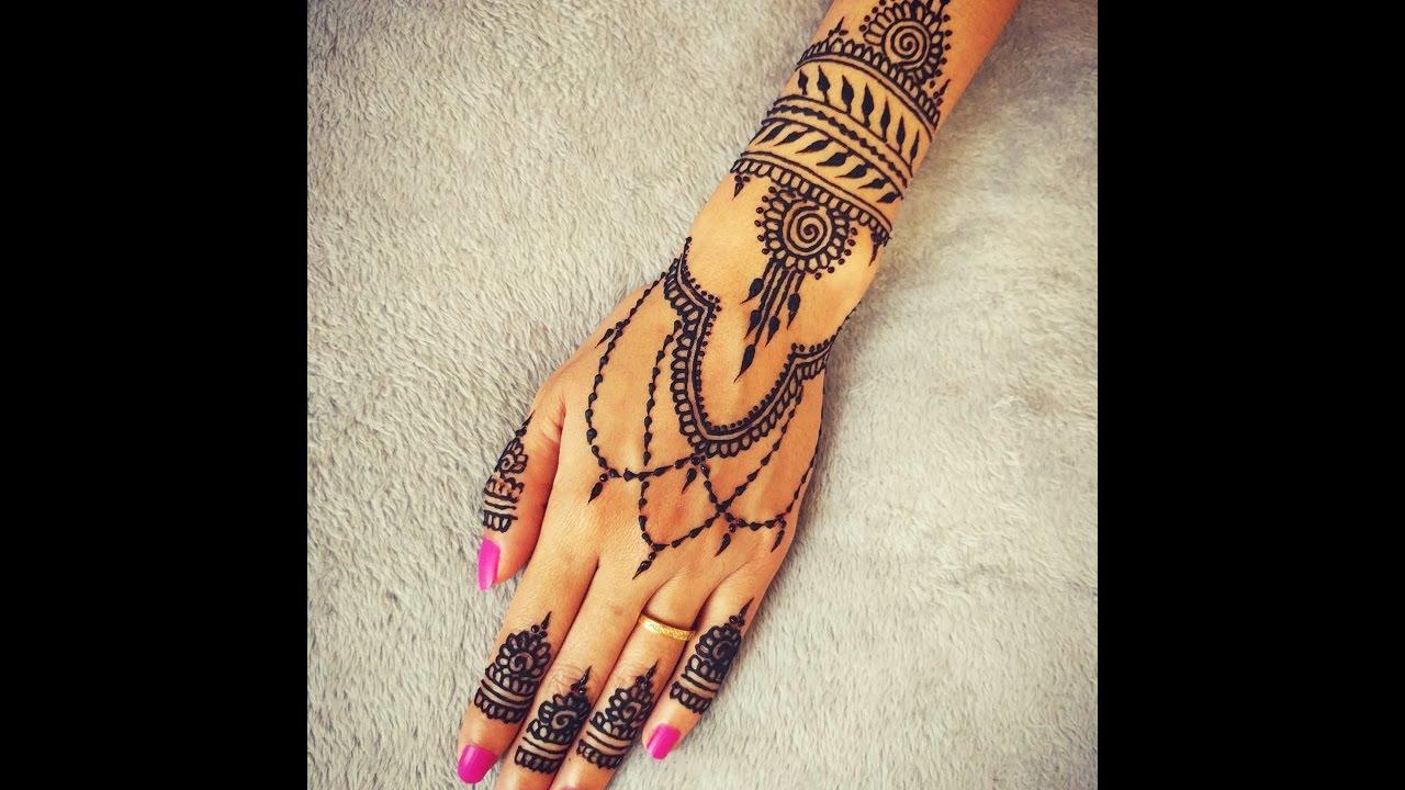 Exotic Hand Henna Tattoo #ArtsyCreativeVibe