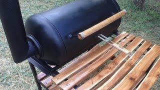 как сделать барбекюшницу своими руками из металла