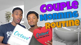 Couple Morning SkinCare Routine | Octave Beauty Co. Review