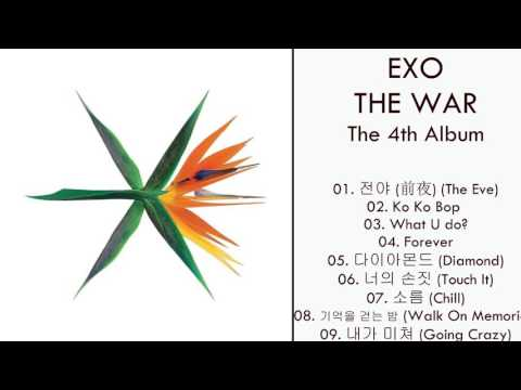 [Album] EXO – THE WAR – The 4th Album (MP3 + DOWNLOAD)