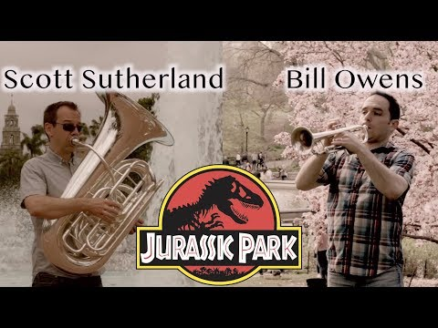 Jurassic Park Theme - Scott Sutherland and Bill Owens (Trumpet, Euphonium and Tuba Cover)