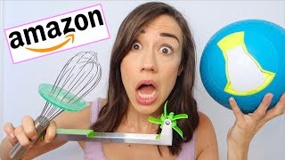 TESTING WEIRD KITCHEN GADGETS FROM AMAZON!