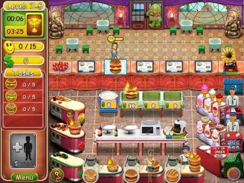 Burger Bustle: Ellie's Organics - Level 7-1 ~ 7-8