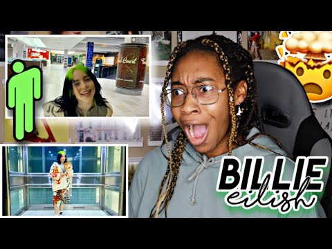BILLIE EILISH- THEREFORE I AM MV REACTION 😭 | Favour