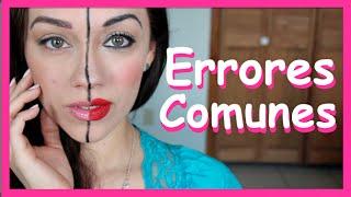 HORRORES! Errores comunes del maquillaje thumbnail