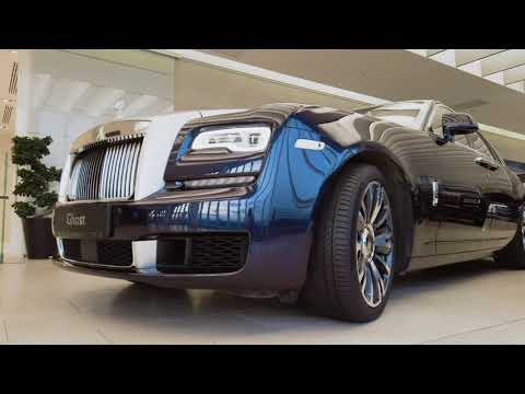 Обзор Rolls-Royce GHOST