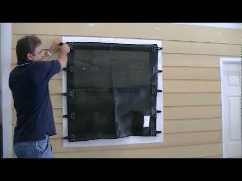 Hurricane Fabric Installation Video