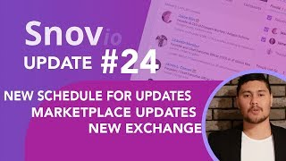 Snovio weekly updates - Week #24 email finder software