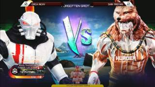 Killer Instinct Tournament: Defend the North 2016 Top 8 - Nicky (Fulgore) v Shin Tristan (Thunder)