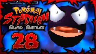 WE BLIND AND BACK!! | Pokemon Stadium BLIND BATTLES w/ShadyPenguinn Ft. NIPPS