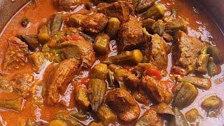 Yon sòs kalalou bien gou (Haitian sauce)