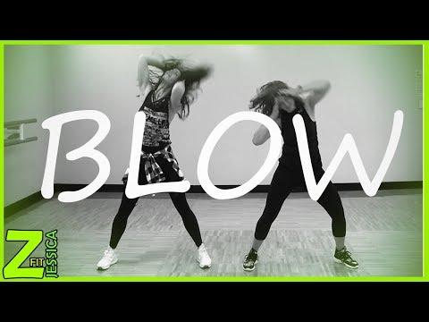 Blow - Ed Sheeran    Dance Fitness    ZumbaFITJessica thumbnail