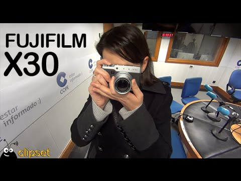 Fujifilm X30 preview VideoCast en espa�ol