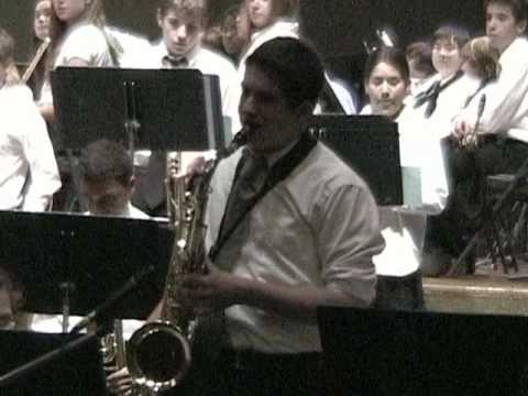 Bala Cynwyd Middle School  Sr.Jazz Band 12-16-09- When The Saints Go Marching In.mpg