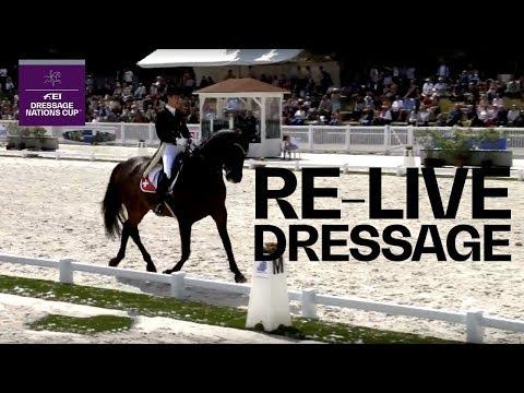 LIVE 🔴 | FEI Dressage Nations Cup - Grand Prix Freestyle | Compiègne