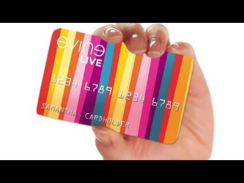 Image result for Evine credit card