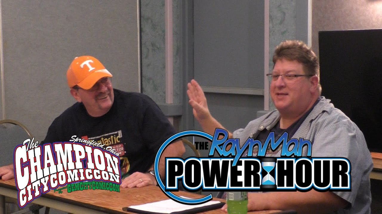 The RaynMan Power Hour – Champion City Comic Con 2016