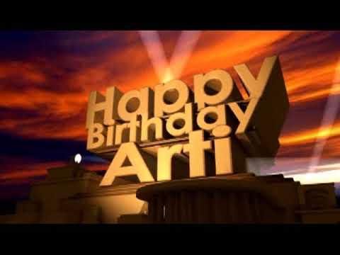 Happy Birthday Arti