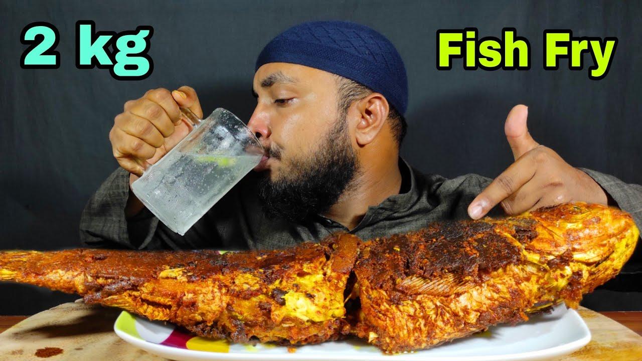 2 KG FULL FISH FRY EATING CHALLENGE | FISH FRY EATING | ASMR MUKBANG | WHOLE FISH FRY EATING VIDEOS