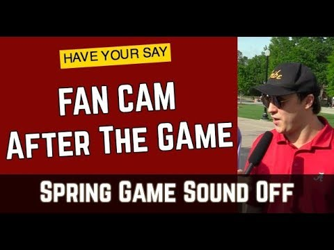 Talk of Champions: Fan Cam (HAVE YOUR SAY)