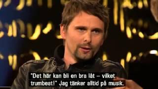 Muse (Matthew Bellamy) interview - Skavlan talkshow