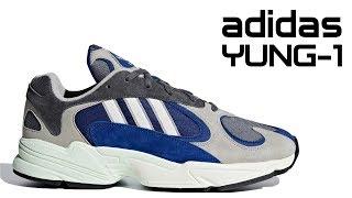 Обзор кроссовок adidas YUNG-1