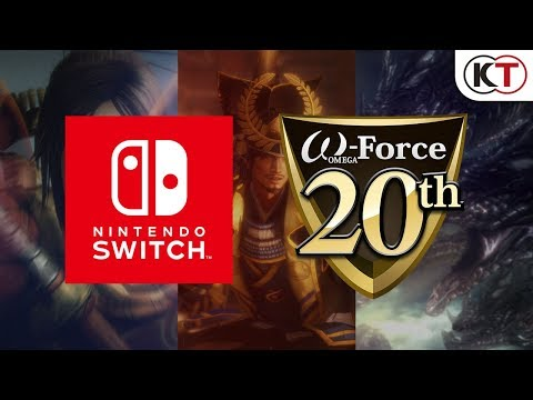"Nintendo Switch版 ""無双""シリーズ3タイトルプロモーション映像"