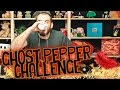 THE GHOST PEPPER CHALLENGE WITH BARNEY! Plus James and Red