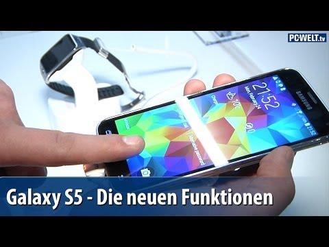 Samsung Galaxy S5: Die Funktionen im Detail - MWC 2014 | deutsch / german