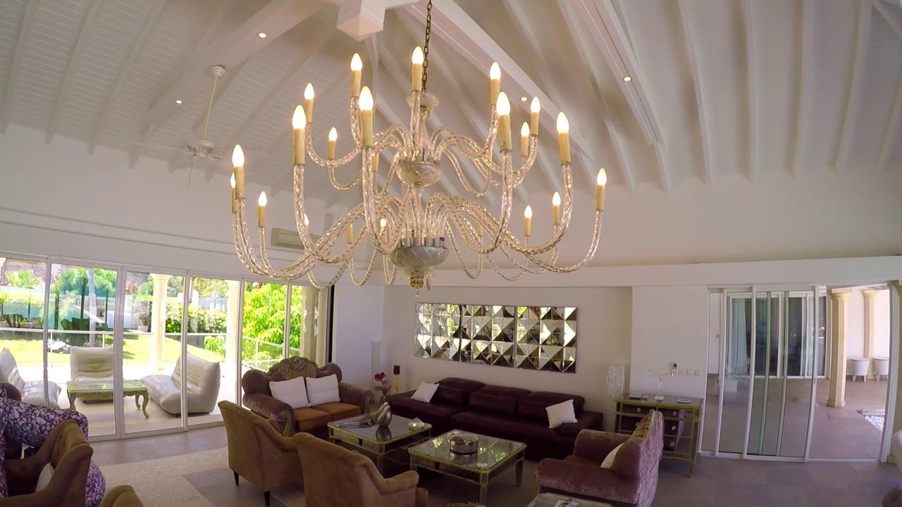 villa la perla palais - st. martin villa rentals - youtube
