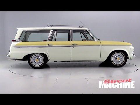 Studebaker Lark Wagon With Sliding Roof