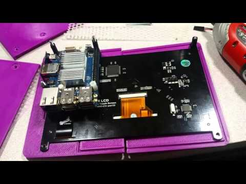 How to Build a Tablet from a single board computer and touchscreen